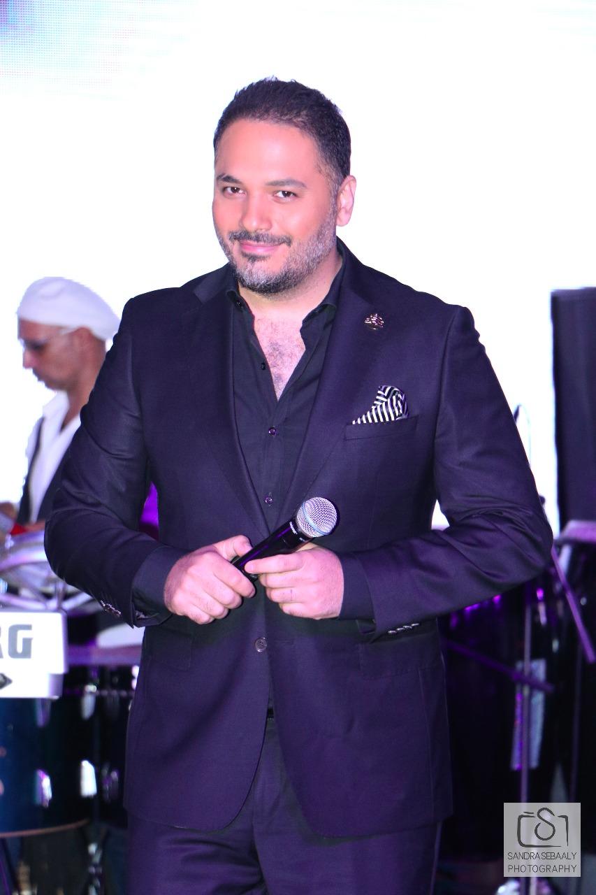 صورة حملايا تكرم النجم رامي عياش في ليلة من العمر…