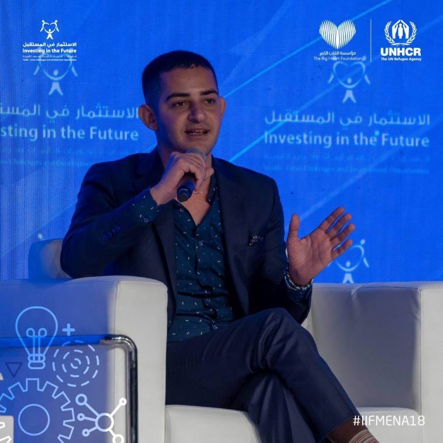 صورة شاكر خزعل سفيراً للأمم المتحدة