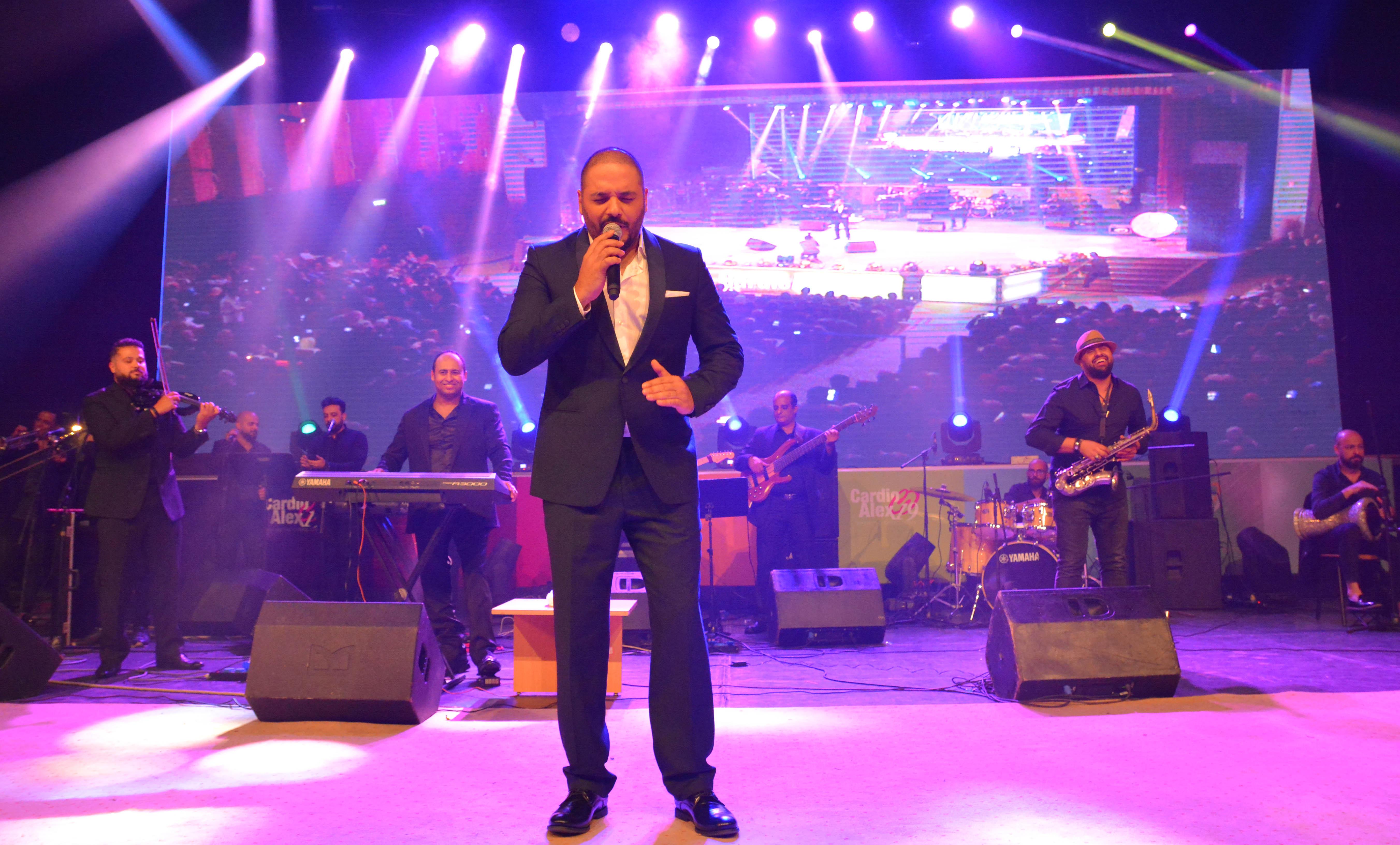 صورة رامي عياش يحيي افخم حفلات الاسكندرية