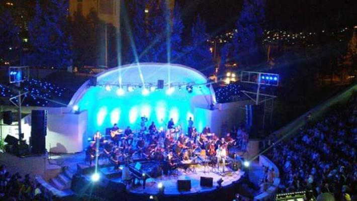 """صورة خاص -موسيقى """" اياد الريماوي """" تصدح في مدينة ال 7000عام"""