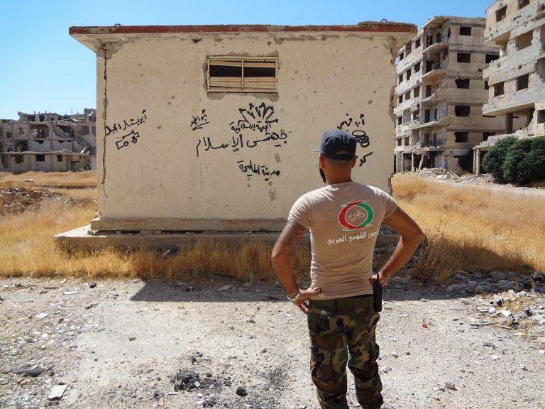 صورة حُرّاس دمشق.. قوميُّون عرَب أيضاً