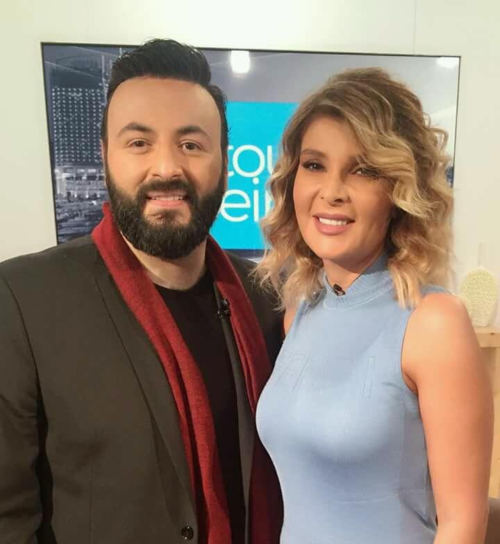 صورة غبريال عبد النور وداليا داغر معا في عيد الفصح