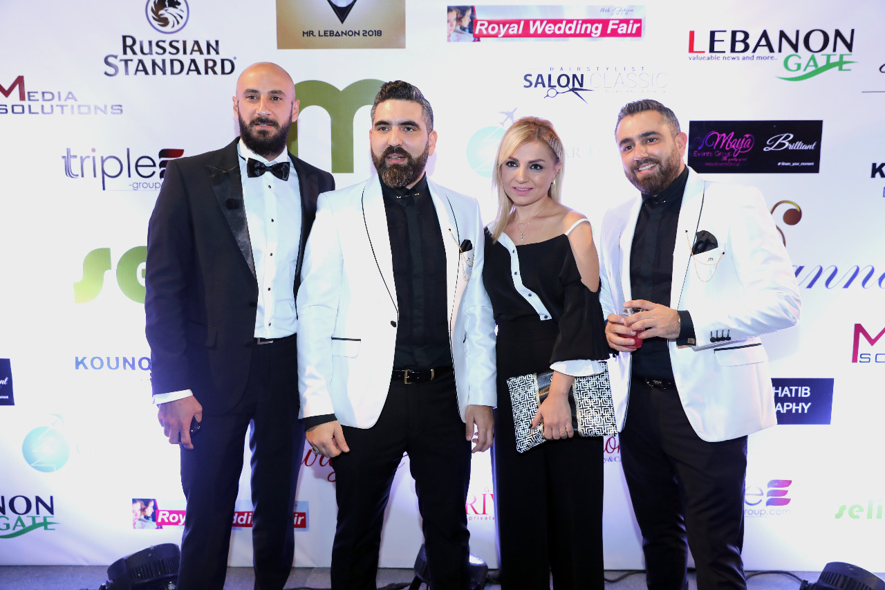 صورة ضمن معرض  ROYAL WEDDING FAIR   في فوروم بيروت اقام السيد سليم متري صاحب  MAISON SALIM MITRI  عرض ازياء مميز