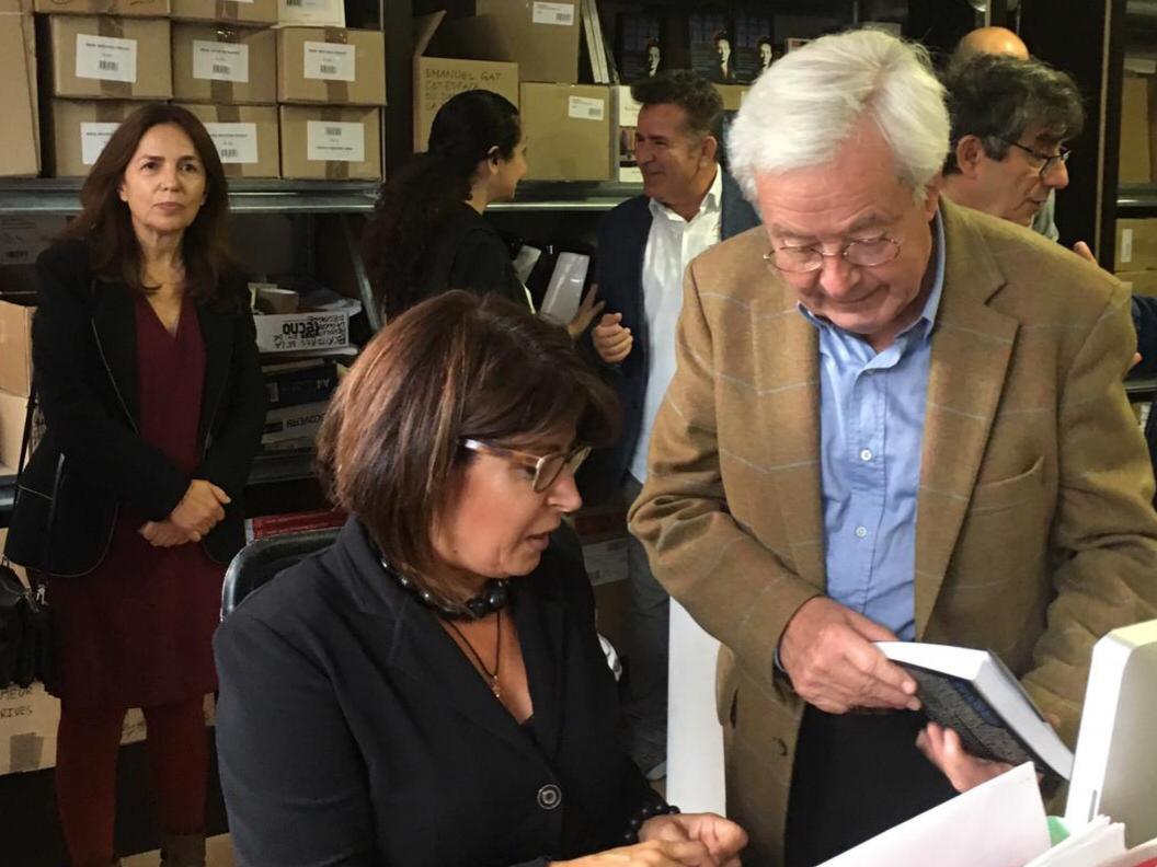 صورة عن مذكرات السيدة جوليات انطون سعادة .. ريجينا صنيفر تؤرخ الامة السورية