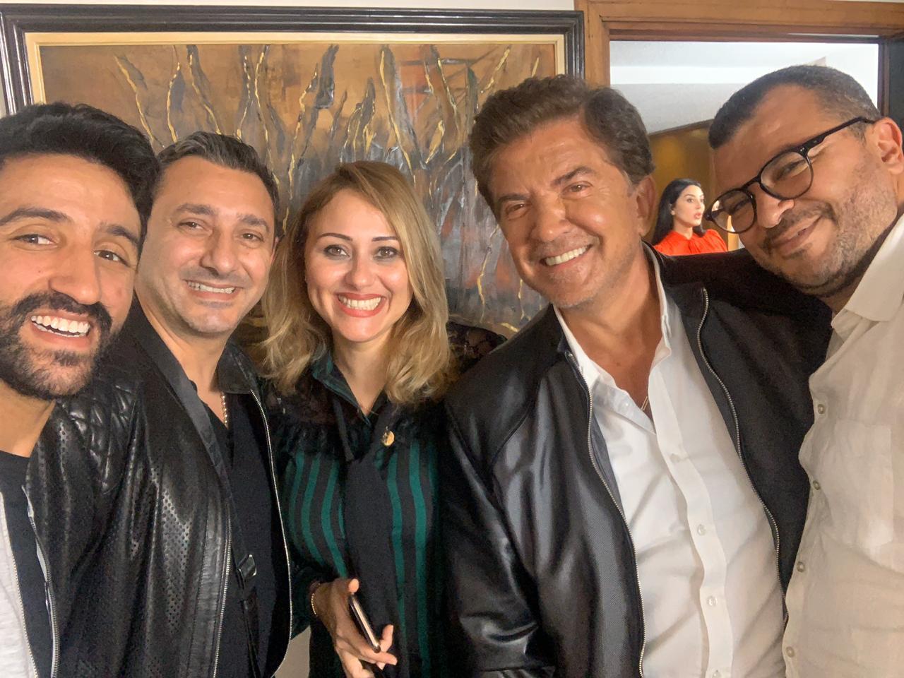 صورة وليد توفيق ضيف شرف في مسلسل داباتزيان المغربي