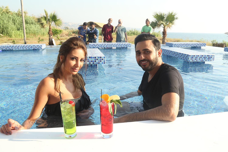 صورة النجم عمر جاد وكليب جديد وقصة حب مع ملكة جمال لبنان