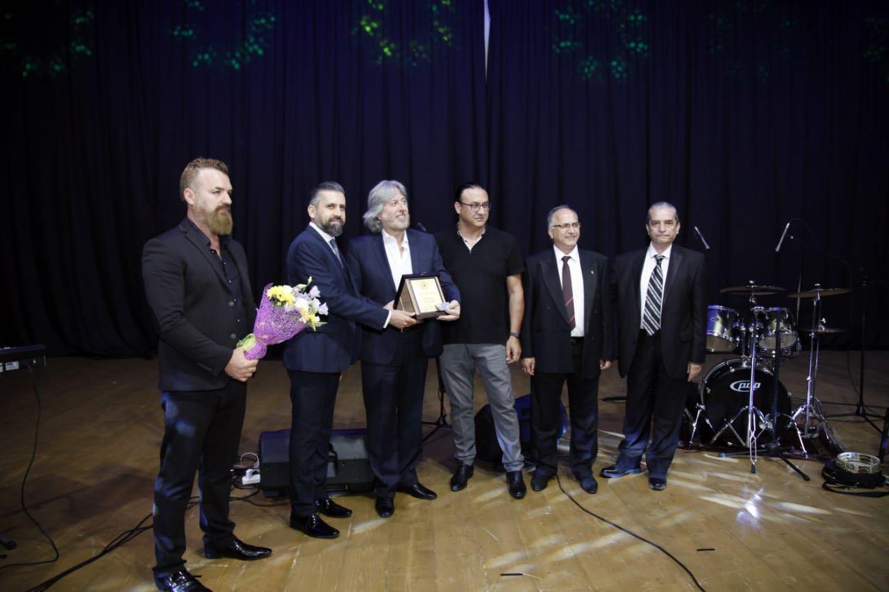صورة إحتفال نقابة محترفي الموسيقى والغناء بكبار الصحافة والموسيقى