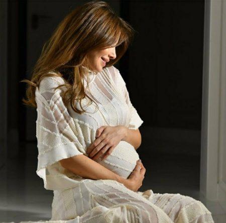 صورة نانسي استقبلت المولودة الثالثة