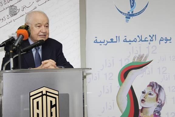 صورة ابو غزالة يرعي احتفال مركز الاعلاميات العربيات السنوي بالاردن