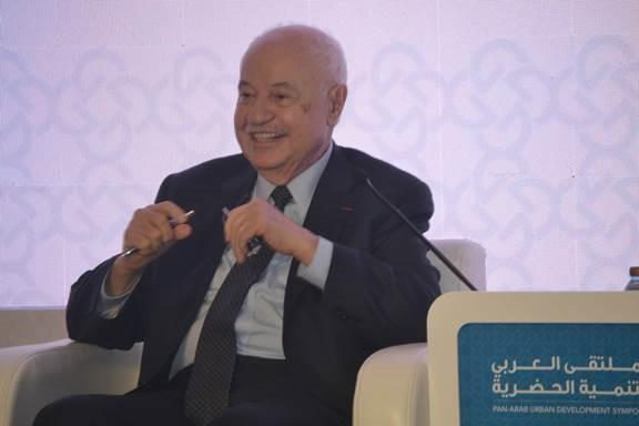 صورة د. ابو غزالة يتوقع زيادة في الاماكن الحضرية في 2050 تقدر ب 2ونصف مليار شخص