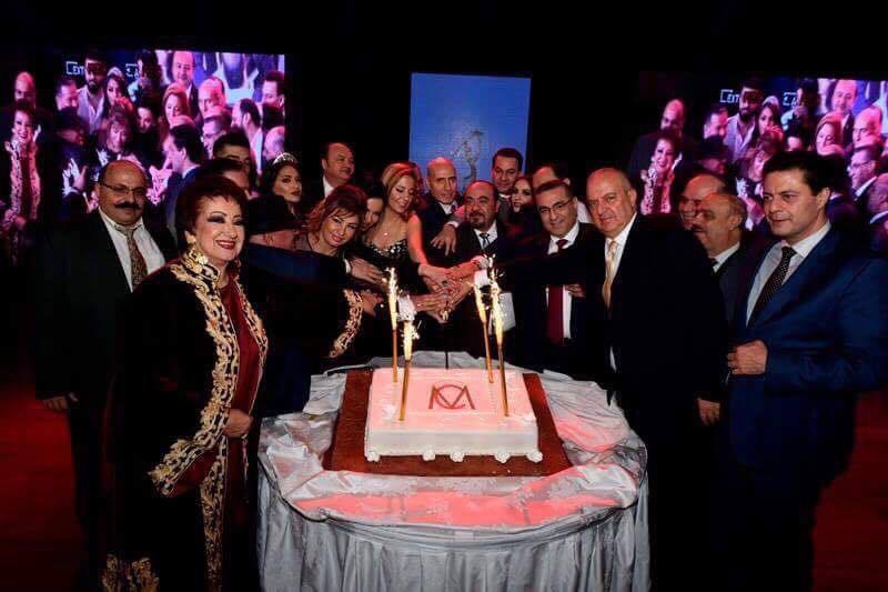 """صورة """"ام سي الدولية """" توزع جوائزها التكريمية"""
