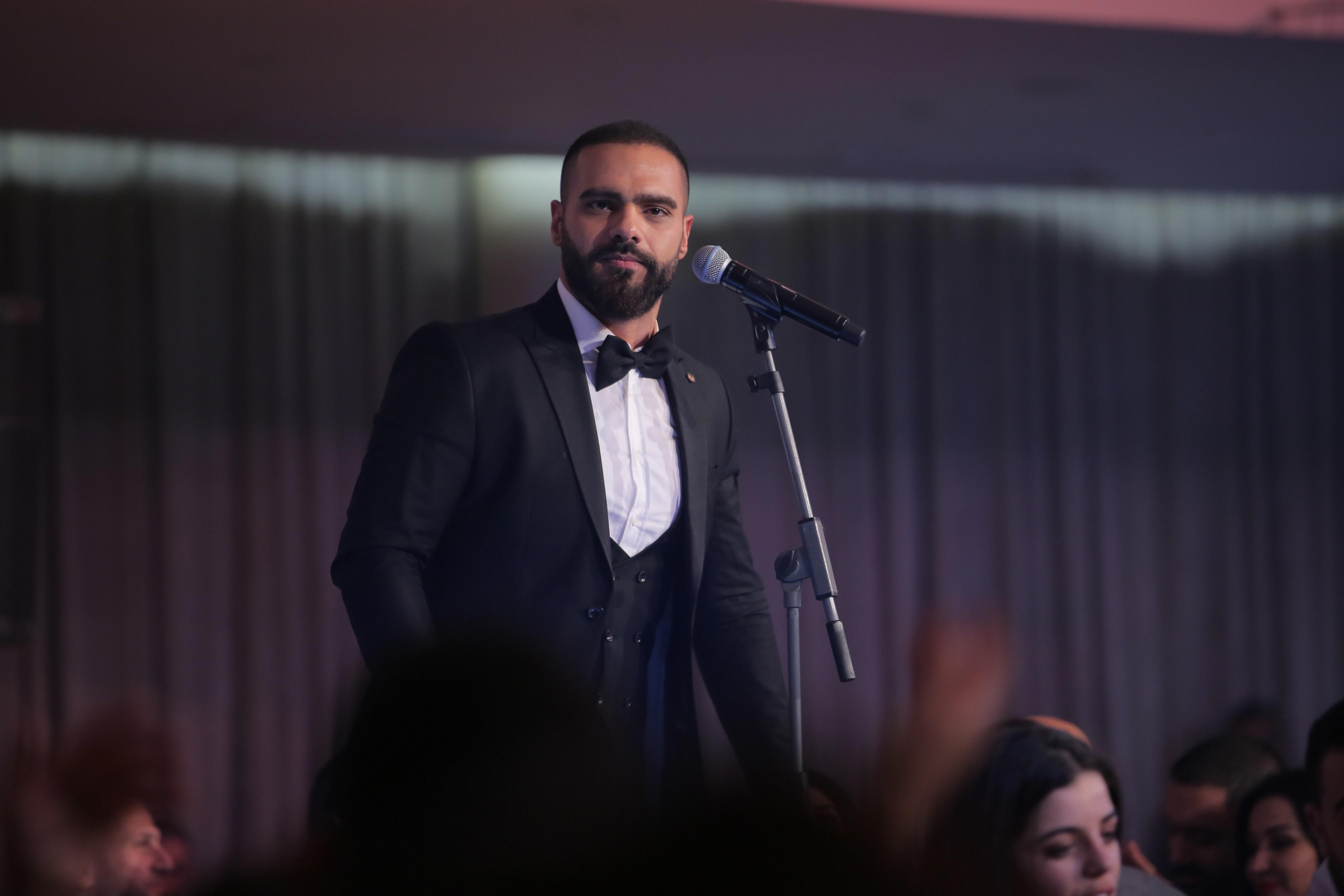 صورة جوزيف عطية يستقبل 2018 في بيروت وجبيل